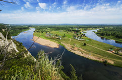 Peaceful summer landscape Stock Images