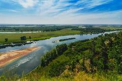 Peaceful summer landscape Stock Image