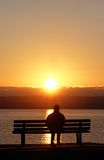Peaceful Sunset Royalty Free Stock Photo