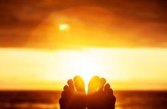 Peaceful sunset Stock Image