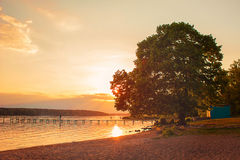 Peaceful Sunset Royalty Free Stock Photography