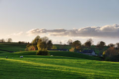 Peaceful tranquillity in a rural setting Stock Photography