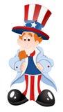Peaceful Uncle Sam Stock Image