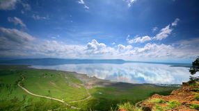 Peaceful view on the lake Nakuru Stock Photos