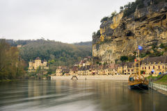 Peaceful village la roque gageac, france Stock Photography