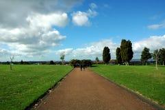 Peaceful walkway Royalty Free Stock Photos