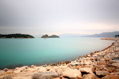 Peaceful water bay Royalty Free Stock Photos