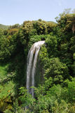 Peaceful waterfall. Landscape in Italy Royalty Free Stock Photos