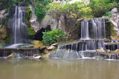 Peaceful Waterfall Royalty Free Stock Photography