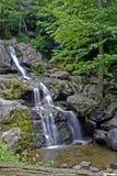 Peaceful waterfall stock photos