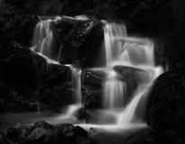 Peaceful waterfall stock photography