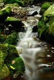 Peaceful waterfall royalty free stock image
