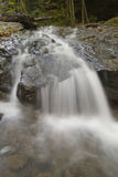 Peaceful waterfall in Pennsylvania Forest Royalty Free Stock Photo