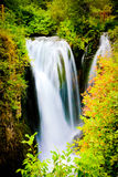 Peaceful Waterfall. This is a peaceful, subtle waterfall located in South Dakota Stock Image