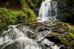 Peaceful waterfall Royalty Free Stock Photo