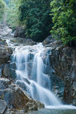 Peaceful waterfall in Thailand Royalty Free Stock Photos
