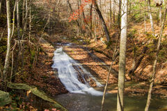 Peaceful Waterfall in Virginia USA Royalty Free Stock Photography