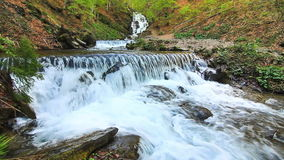 Peaceful Waterfall stock video footage