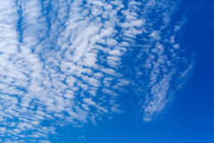 Peaceful white clouds Royalty Free Stock Images