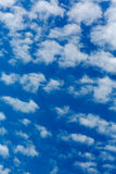 Peaceful white clouds Royalty Free Stock Image