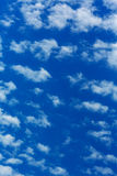 Peaceful white clouds Royalty Free Stock Photography