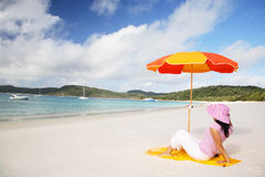 Peaceful Whitsunday Stock Images