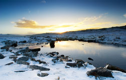 Peaceful Winter Brook Royalty Free Stock Photo