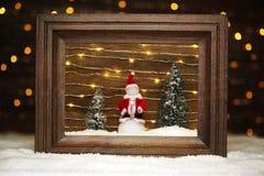 Peaceful winter scene Stock Images