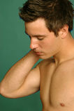 Peaceful young man Royalty Free Stock Image