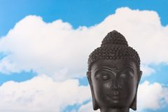 A peacefull Budha statue Royalty Free Stock Photography