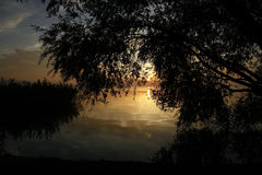 Peacefull Landscape Royalty Free Stock Photos