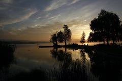 Peacefull-Landschaft Lizenzfreies Stockfoto