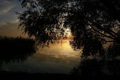 Peacefull-Landschaft Lizenzfreie Stockfotos
