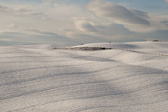 peacefull snowscape 库存照片