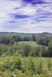 Peacefull-Sommertag in New Hampshire lizenzfreies stockbild