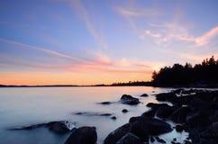 Peacefull Sunset Royalty Free Stock Photos