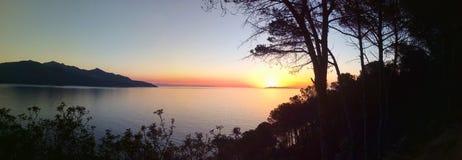 Peacefull sunset Stock Photos