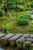 Peacefull trädgård Royaltyfria Foton