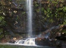 Peacefull vattenfall Royaltyfria Foton