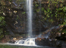 Peacefull Waterfall Royalty Free Stock Photos
