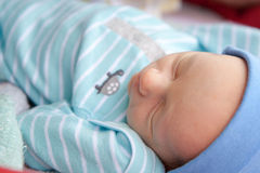Peacefully Sleeping Baby Royalty Free Stock Photography