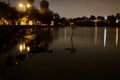 Peacefulness. Summer evening  Lake Stock Images