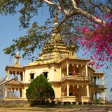 Peacefulness Temple. Wat Phon Phao (Peacefulness Temple) in Luang Prabang, Laos Stock Image