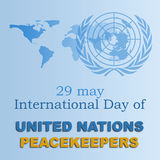 Peacekeepers international day 2 Royalty Free Stock Photo