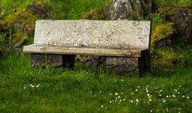 Peacful bänk Royaltyfri Fotografi
