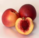 peach świeże Obraz Stock