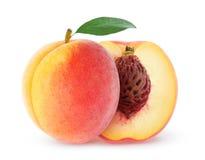peach świeże Fotografia Royalty Free