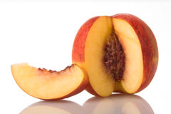 Peach_1 Royalty-vrije Stock Fotografie