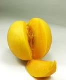 Peach. Fresh peach stock photography