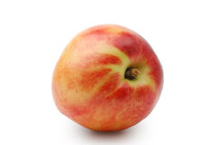Peach. On a white background Stock Photo